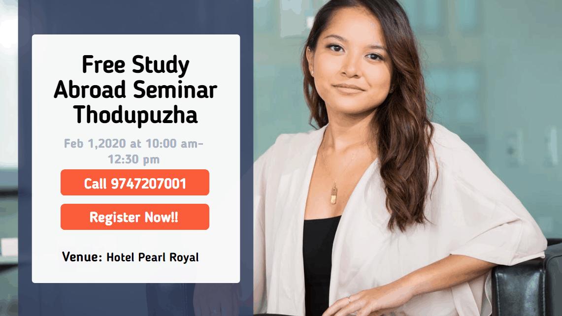 Study Abroad Seminar Thodupuzha educareer study abroad consultancy in Thodupuzha